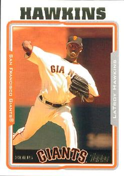 2005 Topps Updates & Highlights #UH46 LaTroy Hawkins Front