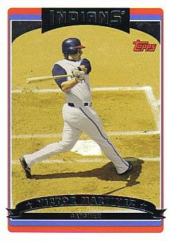 2006 Topps #105 Victor Martinez Front