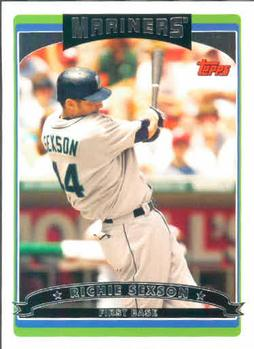 2006 Topps #130 Richie Sexson Front