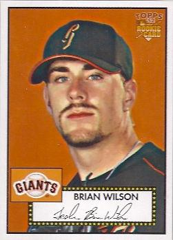 2006 Topps 1952 Edition #87 Brian Wilson Front