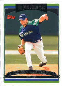2006 Topps Updates & Highlights #UH4 Jarrod Washburn Front
