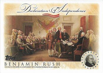 2006 Topps - Signers of the Declaration of Independence #NNO Benjamin Rush Front