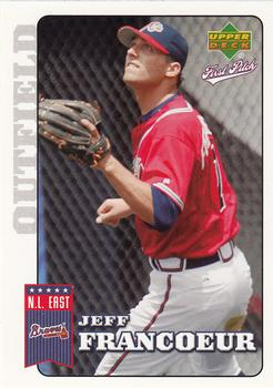 2006 Upper Deck First Pitch #13 Jeff Francoeur Front