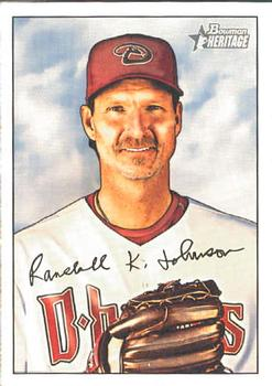 2007 Bowman Heritage #9 Randy Johnson Front