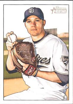 2007 Bowman Heritage #182b Jake Peavy Front