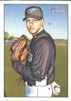 2007 Bowman Heritage #188a Roy Halladay Front