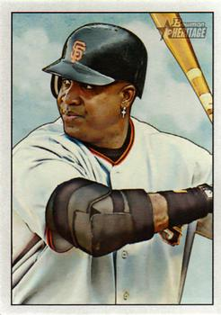 2007 Bowman Heritage #200b Barry Bonds Front