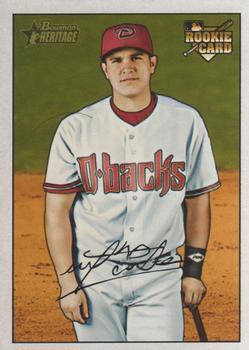 2007 Bowman Heritage #246a Miguel Montero Front