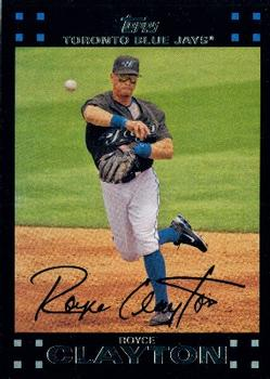 2007 Topps #167 Royce Clayton Front