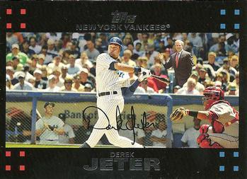2007 Topps #40a Derek Jeter Front
