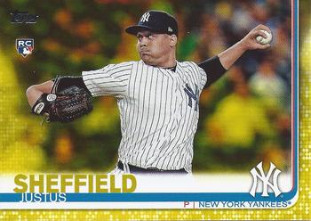Justus Sheffield Gallery The Trading Card Database