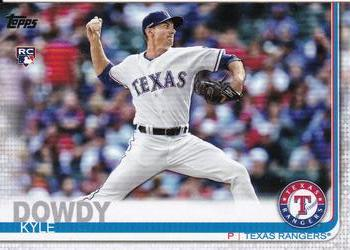 2019 Topps Update #US229 Kyle Dowdy Front