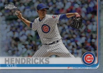 2019 Topps Heritage #46 Kyle Hendricks Chicago Cubs Baseball Card