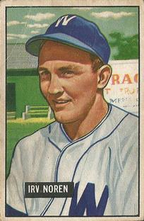 Image result for Irv Noren  1951  baseball photos