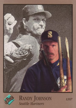 1992 Studio #234 Randy Johnson Front