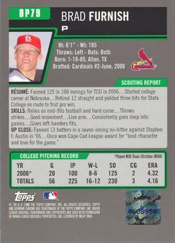 2006 Bowman Draft Picks & Prospects Chrome Refractor DP79 Brad Furnish Auto Card Verzamelkaarten, ruilkaarten