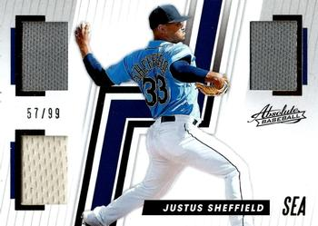 2019 Panini Chronicles - Absolute Memorabilia Gold #AB-JS Justus Sheffield Front