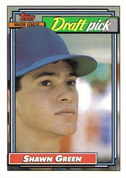 1992 Topps #276 Shawn Green Front