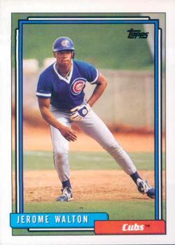 1992 Topps #543 Jerome Walton Front