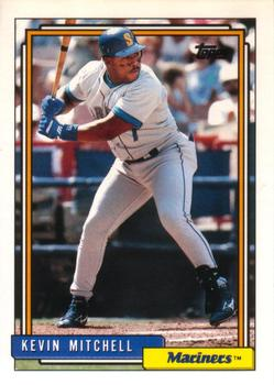 1992 Topps Traded #74T Kevin Mitchell Front