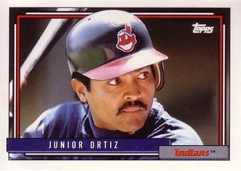 1992 Topps Traded #84T Junior Ortiz Front