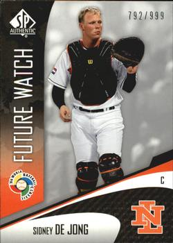 2006 SP Authentic - WBC Future Watch #77 Sidney de Jong Front