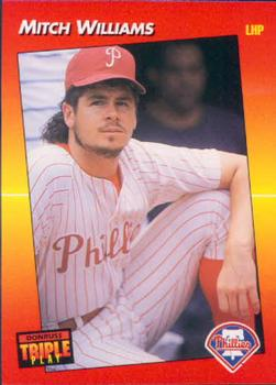 1992 Triple Play #220 Mitch Williams Front