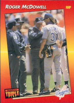 1992 Triple Play #80 Roger McDowell Front