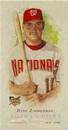 2006 Topps Allen & Ginter - Mini A and G Back #264 Ryan Zimmerman Front