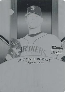 2006 Upper Deck Ultimate Collection - Printing Plates Black #166 Bobby Livingston Front
