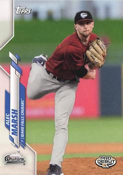 2020 Topps Pro Debut #PD-39 Alec Marsh Front