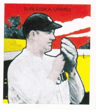 1933 (R305) Reprints #NNO Burleigh A. Grimes Front