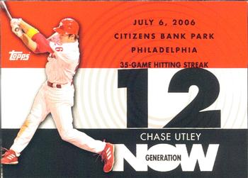 2007 Topps - Generation Now #GN62 Chase Utley Front