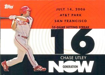 2007 Topps - Generation Now #GN66 Chase Utley Front