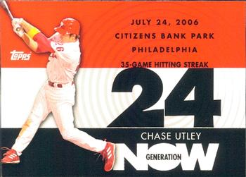 2007 Topps - Generation Now #GN74 Chase Utley Front