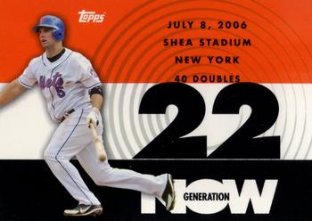 2007 Topps - Generation Now #GN168 David Wright Front