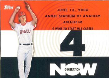 2007 Topps - Generation Now #GN190 Jered Weaver Front