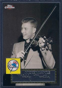 2007 Topps Chrome - Mickey Mantle Story #MMS12 Mickey Mantle Front