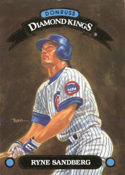 1993 Donruss Diamond Kings Baseball Gallery The
