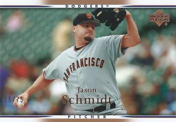 2007 Upper Deck - Gold #437 Jason Schmidt Front