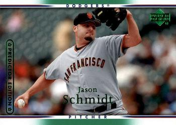 2007 Upper Deck - Predictor Green #437 Jason Schmidt Front