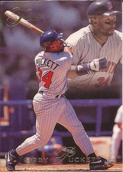 1993 Flair #242 Kirby Puckett Front