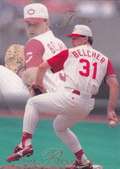 1993 Flair #24 Tim Belcher Front