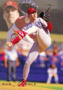 1993 Flair #25 Rob Dibble Front