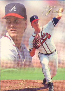 1993 Flair #4 Tom Glavine Front