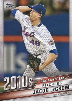 2020 Topps - Decades' Best (Series 2) #DB-98 Jacob deGrom Front