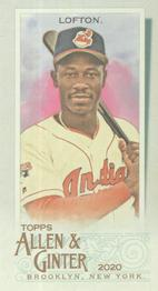 2020 Topps Allen & Ginter - Mini #333 Kenny Lofton Front