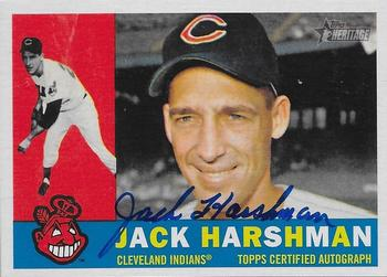 2009 Topps Heritage - Real One Autographs #ROA-JH Jack Harshman Front