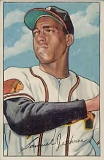 1952 Bowman #84 Sam Jethroe Front
