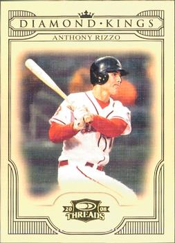 2008 Donruss Threads - Diamond Kings #DK-11 Anthony Rizzo Front